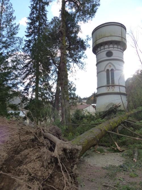 Tornado in Bagni di Lucca