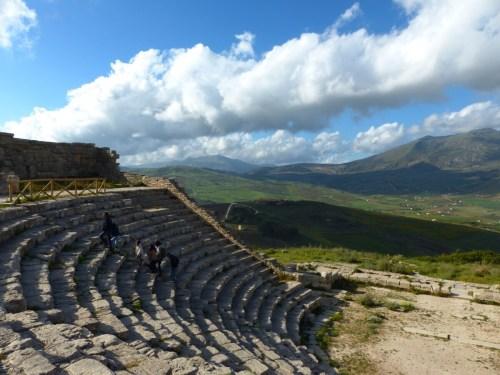 Ancient theatre Segesta