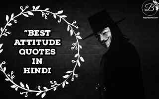 Best Attitude Quotes In Hindi