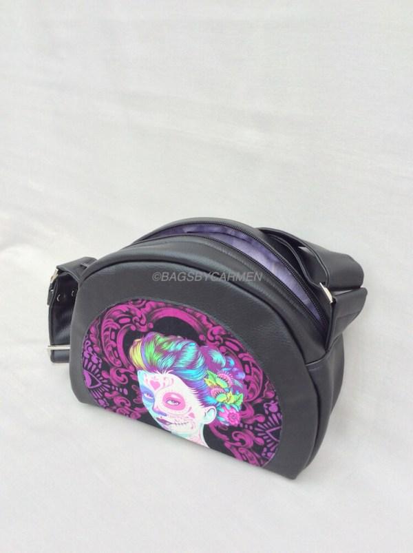 Bowler Style Shoulder Bag_Top