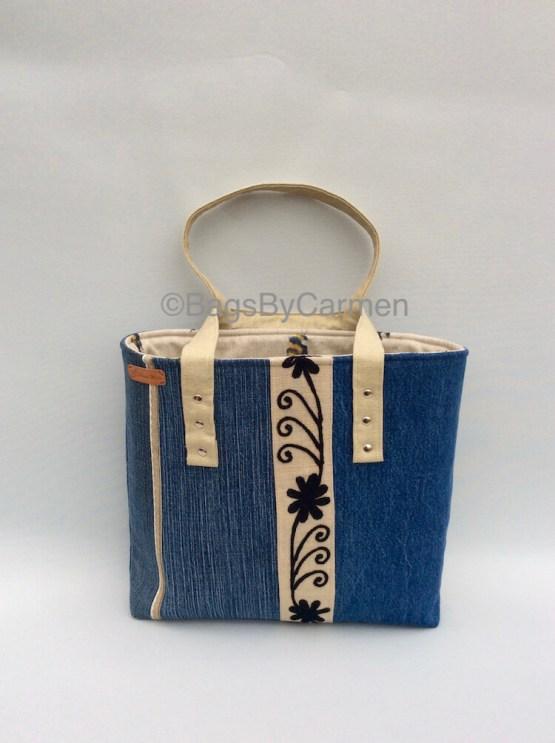 Blue Tote Bag_Front