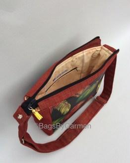 Feathers Handmade Shoulder Bag_Side