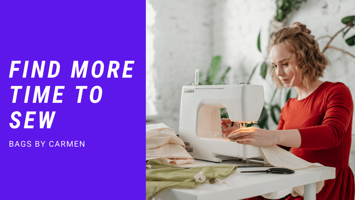 Find more time to sew
