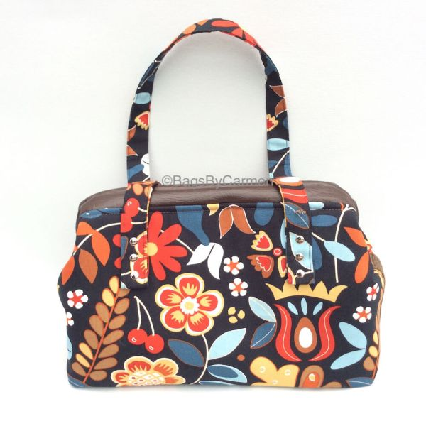 Handbag Flower Print