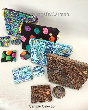 patterned make up bag gift