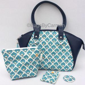 Turquoise Blue Handbag