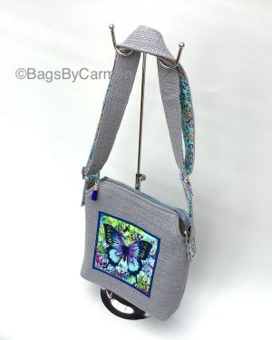 Shoulder Bag – Butterfly Print