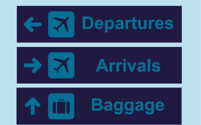 Plane talking: Check-in and bag drop