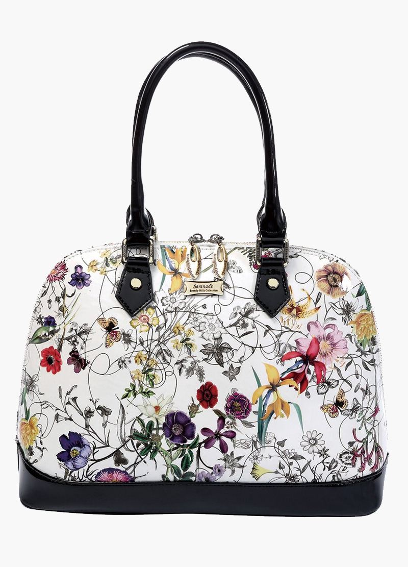 Serenade Botanics Leather handbag