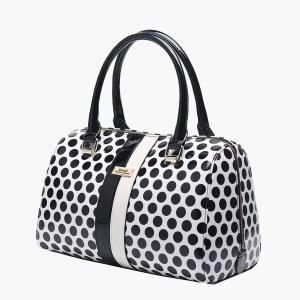 Serenade Dixie Spot Leather Handbag