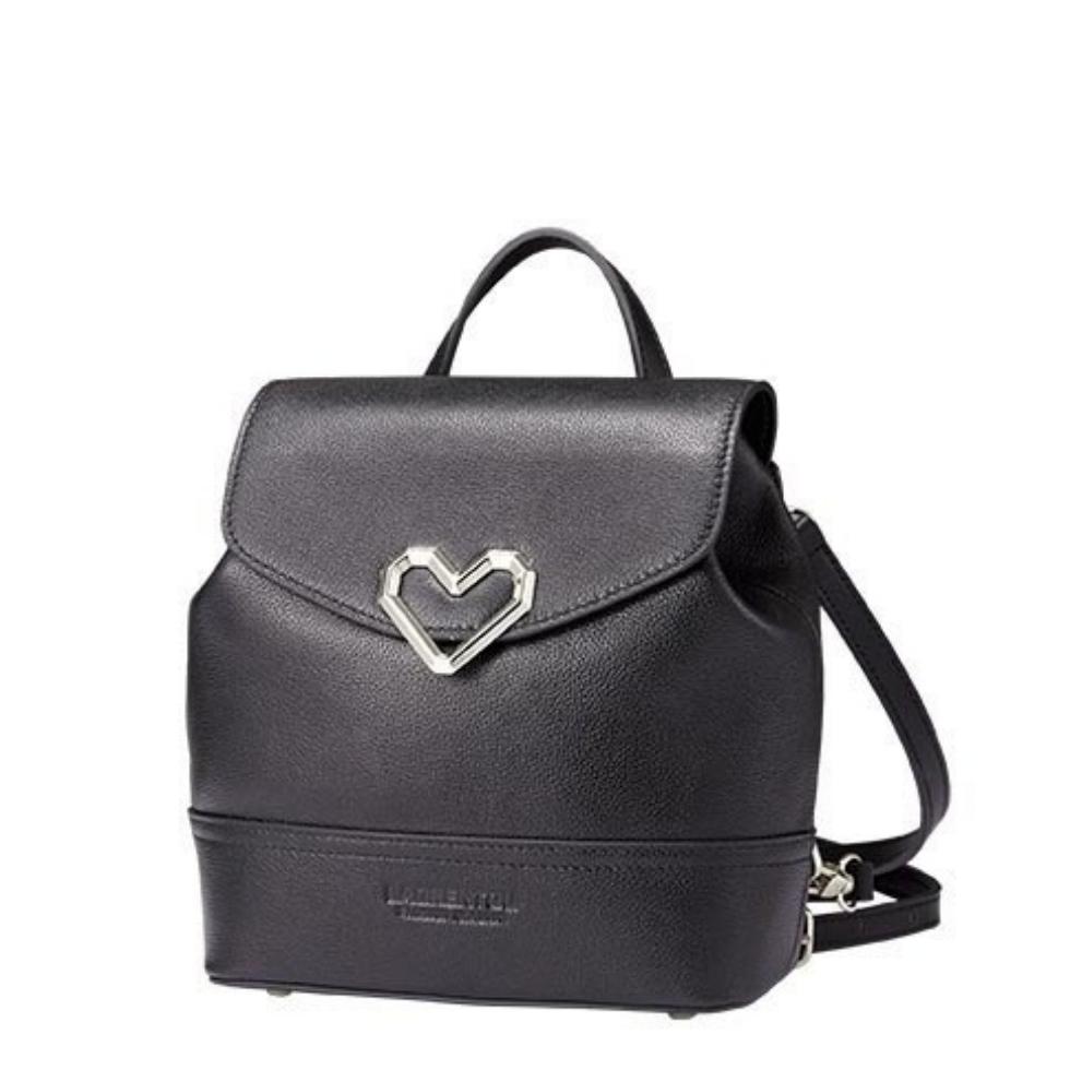 Купить Сумка рюкзак женский черный кожаный цена отзывы 2019 натуральная кожа