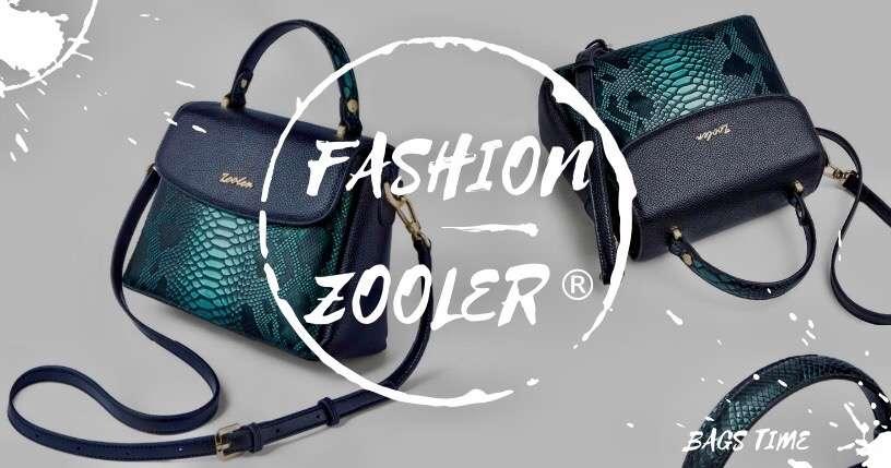Женская сумка-тоут с эффектом змеиной кожи— имиджевая новинка на BAGS TIME