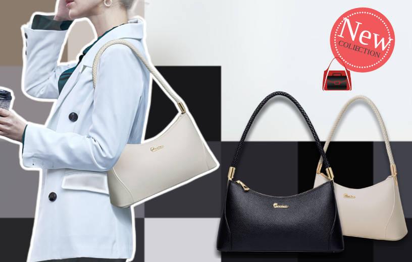 Шкіряна сумка-багет від Zooler, Elegant Baguette. Новинка в BAGS TIME!
