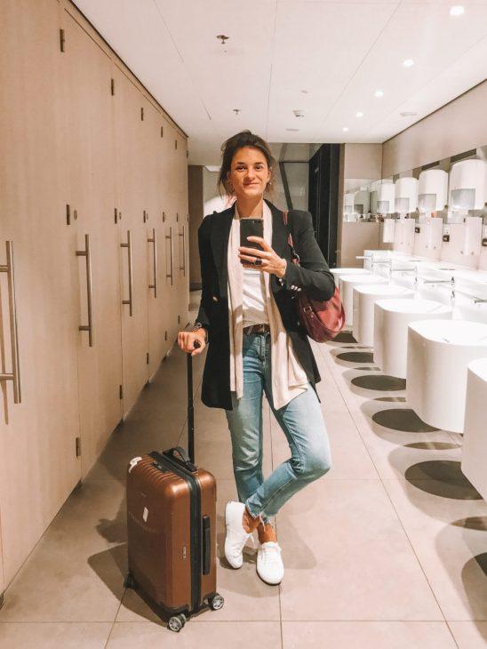 op reis met een handbagage koffertje