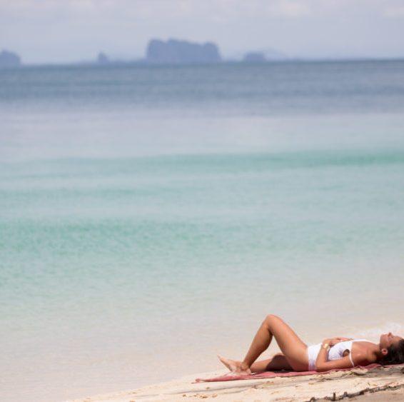 strand van koh kradan in thailand
