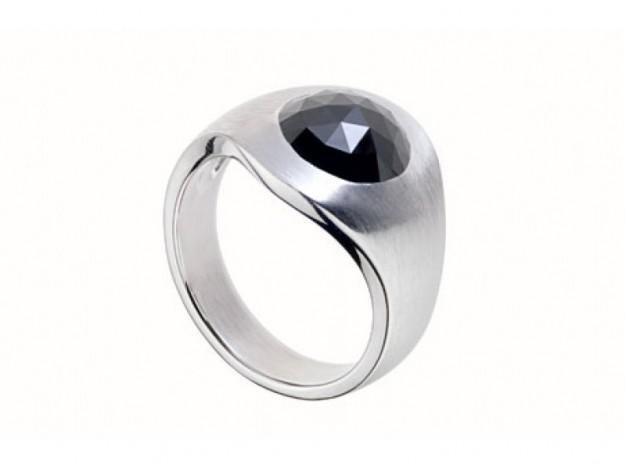 Préférence Bague Diamant Noir - Bague Pas Cher OK53