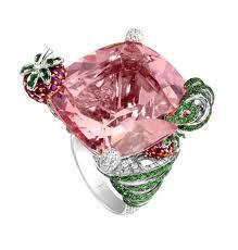 bague cocktail rose