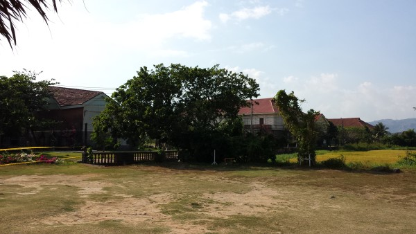 Las Casas Filipinas de Acuzar outside view