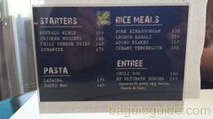 city center hotel baguio menu meals