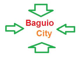 how to get to baguio city