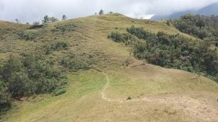 mt ulap mountain eco trail ampucao itogon benguet upper view campsite