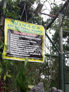 winaca eco cultural village rules