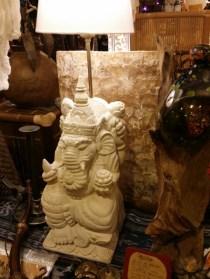 人気者の神様ガネーシャをライムストーンで彫刻♪