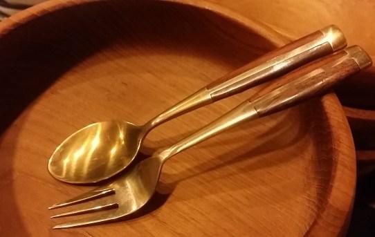 ブラス真鍮スプーン&フォーク