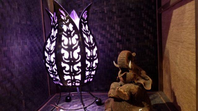 バリ島ランプ