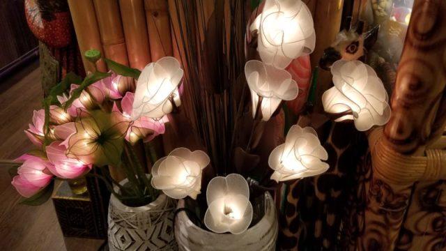 タイお花ランプ