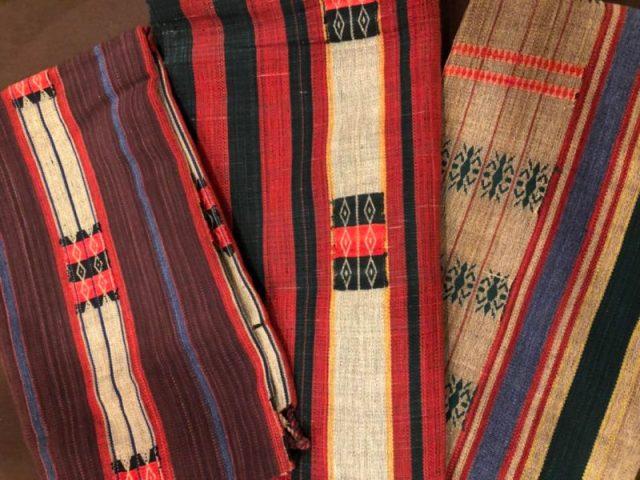 ナガ族織り生地