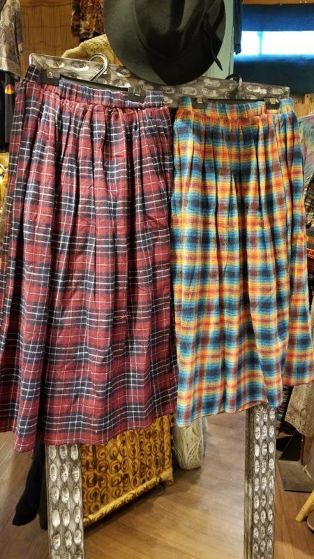 暖かいスカート