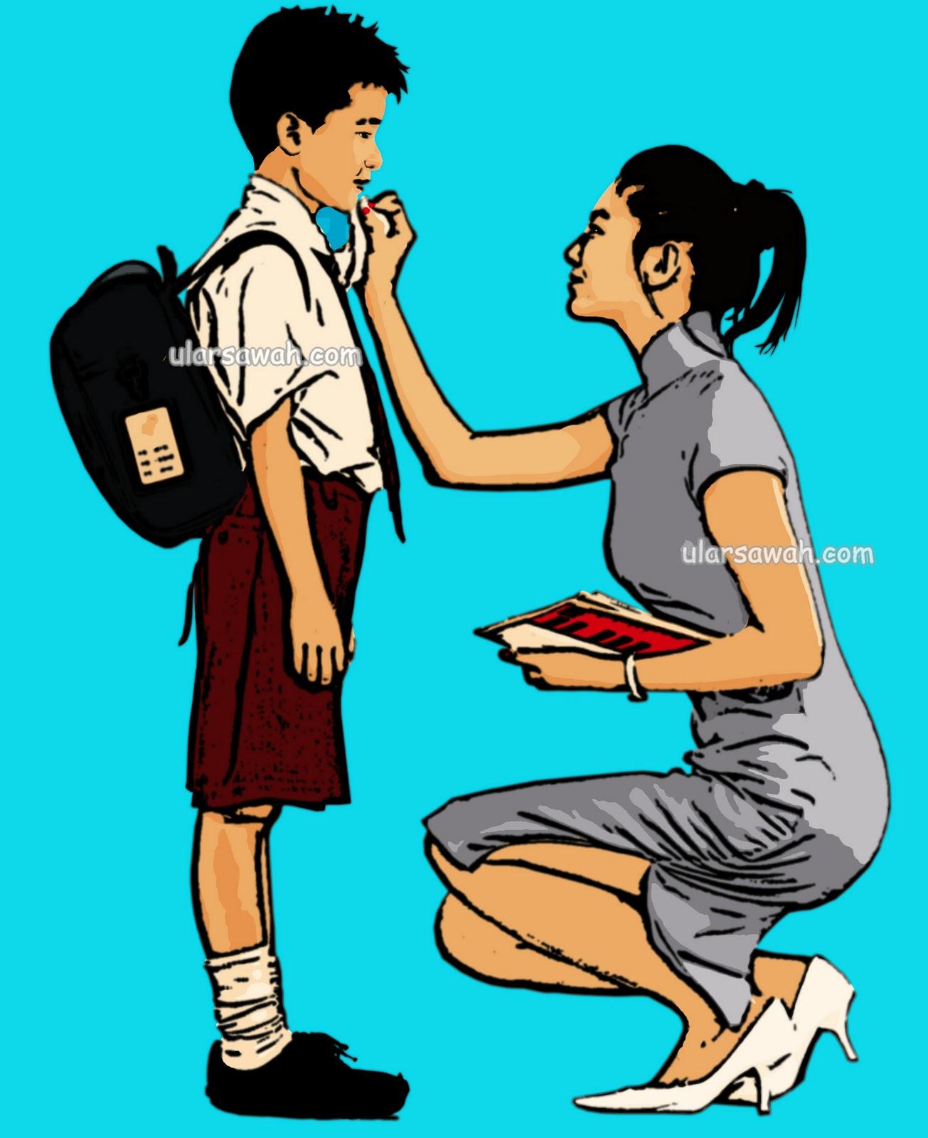 Animasi Siswa Smp : animasi, siswa, Gambar, Animasi, Tawuran, Cikimm.com
