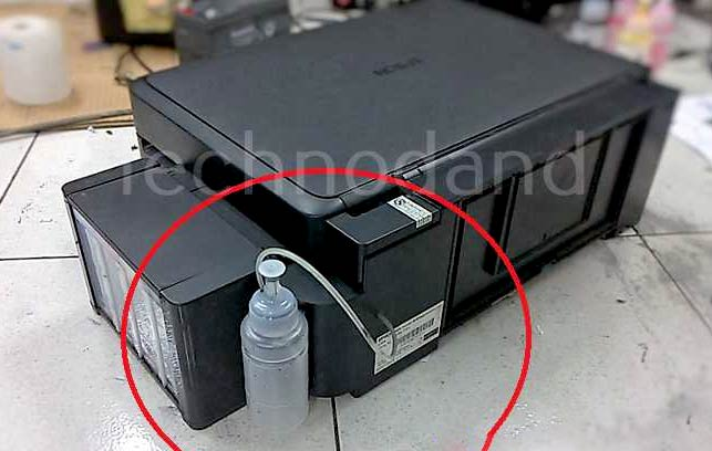 Buangan tinta Epson L110