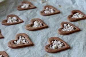 Sukkerstok i småkagehjerter Bagvrk.dk