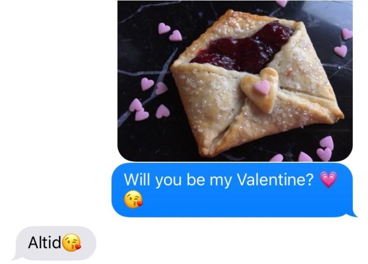 Valentinsdag Dyrk Kaerligheden