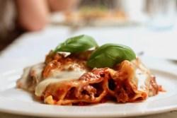 Cannelloni med kødsauce udvalgt Bagvrk.dk