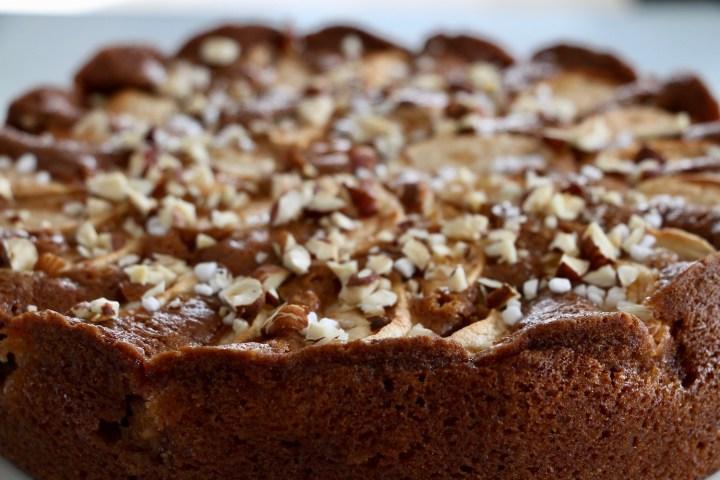 Bagt æblekage. En supernem opskrift fra Bagvrk.dk.