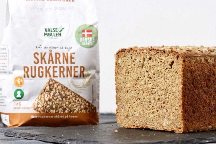 Skårne rugkerner fra Valsemøllen - Bagvrk.dk