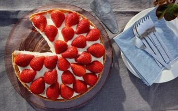 Jordbærtærte som Lagkagehusets udvalgt Bagvrk.dk