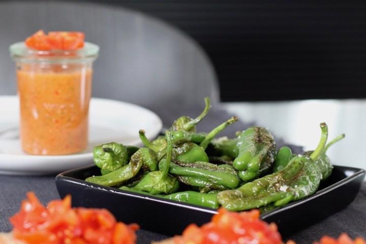 Padronpeber med gazpacho tapas Bagvrk.dk