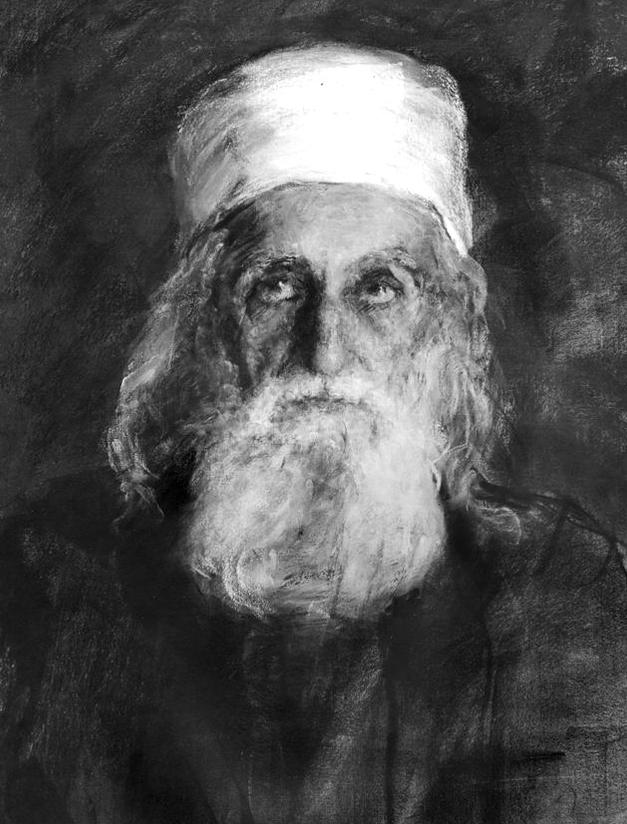 Portrait de 'Abdu'l-Bahá par Juliet Tomson