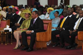 PLP Government GOES TO CHURCH TO THANK GOD FOR THE VICTORY OF 2012 | Bahamaspress.com