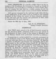 1962 Bahamas Gazette appropriation of Smith - Rattray