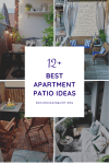 12 Adorable Apartment Patio Ideas and Inspiration for Small Patios
