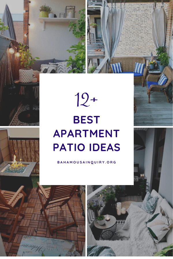 Best Apartment Patio Ideas
