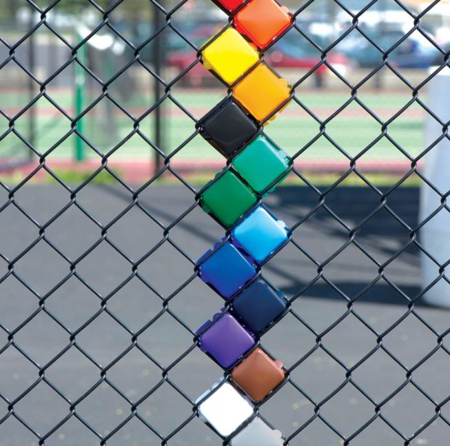chain link fence cover ideas