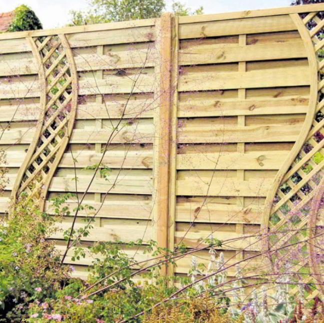 Simple Horizontal Fence Ideas
