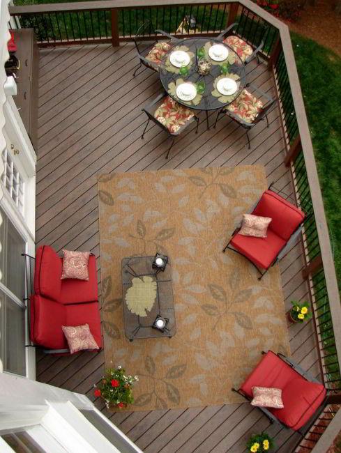 Creative Pallet Deck Ideas