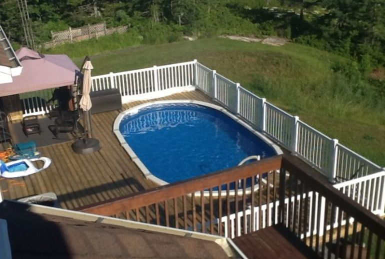 Best Deck Pool Large Ideas
